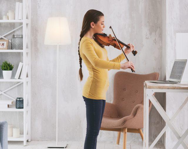 Geige online lernen